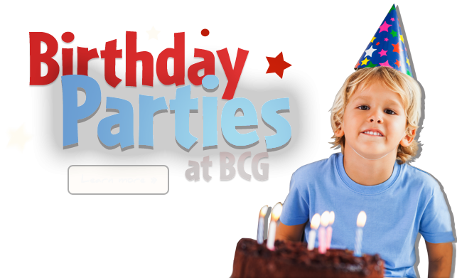 Birthday Parties at Bull City Gymnastics